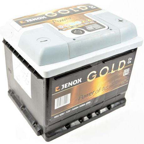 Akumulator JENOX Gold 52Ah 520A Jasło