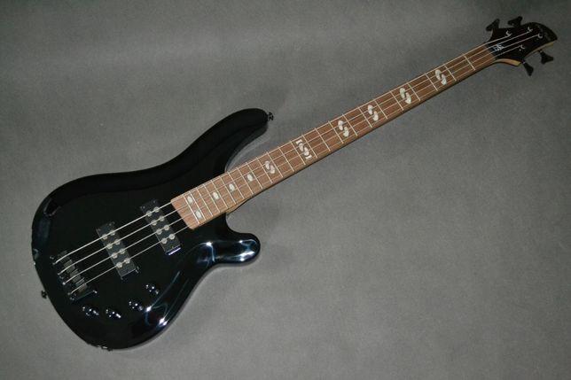 Harley Benton B-450 BK CZARNA gitara basowa -setup gratis!