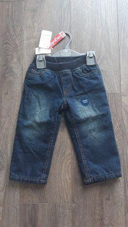 Новые джинсы на флисе Mothercare 12-18 мес.