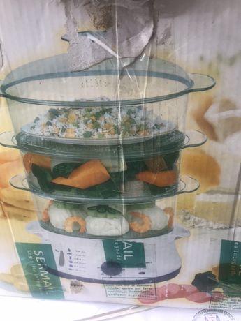 Panela comida a vapor
