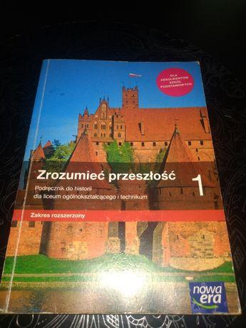 Zrozumieć przeszłość 1 podręcznik do historii nowa era zakres rozszerz
