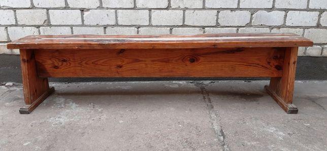 Скамейка из натурального дерева 183 см.