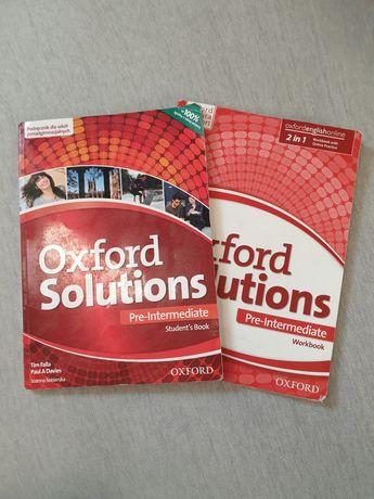 Oxford Solutions Pre-Intermediate. Podręcznik + ćwiczenia.