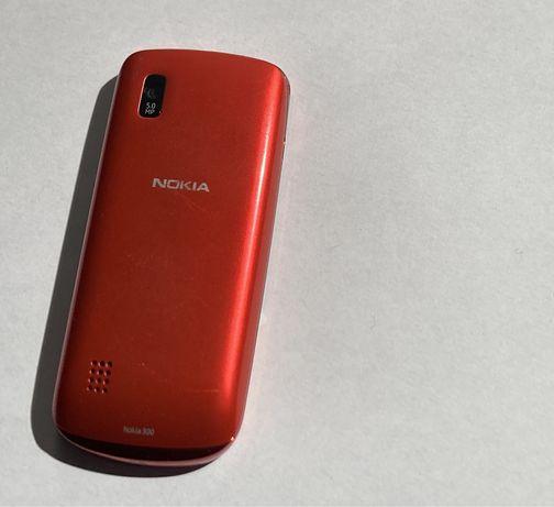 Nokia 300 - czerwona, nowa bateria, tylko do rozmów