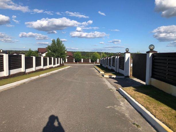 Коттеджный городок, охрана, участки от 14 соток до 1 Га. Стоянка- 1