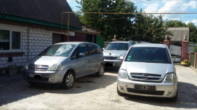 Opel Meriva (запчастини Astra, Corsa, Combo)