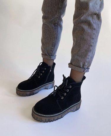 Крутые новые зимние ботинки!!