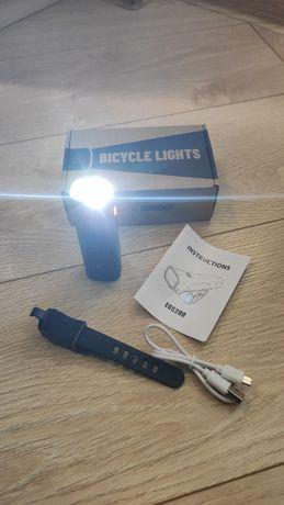 Велосипедный фонарик ROCKBROS, 400 Lm, 2000 mAh