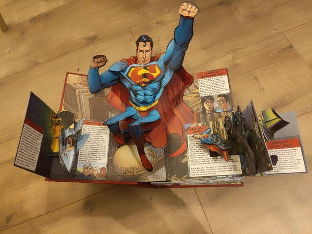 DC Superheroes The Ultimate Pop-Up Book