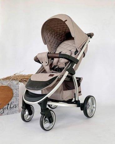 Детская прогулочная коляска книжка Carrello Vista 8505