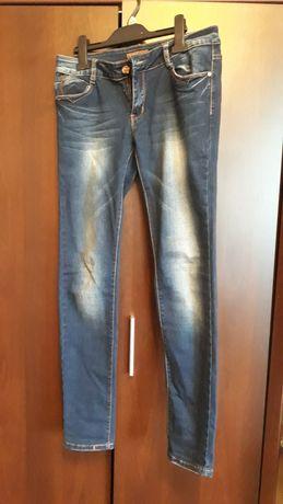 Spodnie jeansy dżinsy Skiny r.M