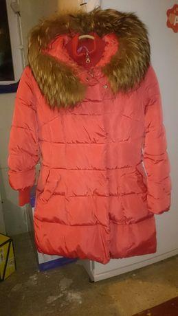 Куртка зимняя с натуральным мехом