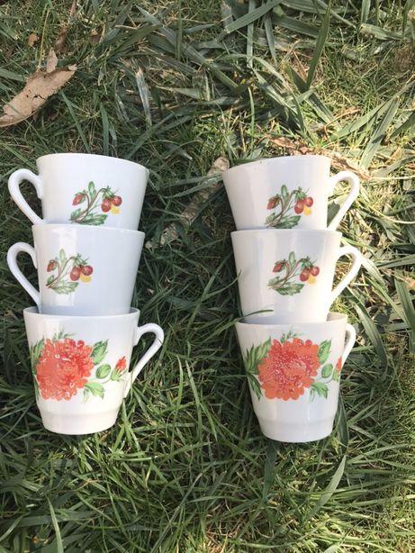 Набор чашек для кофе 6 шт