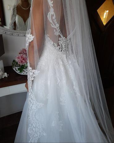 Piekna Sukienka ślubna