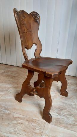 krzesła 4 dębowe