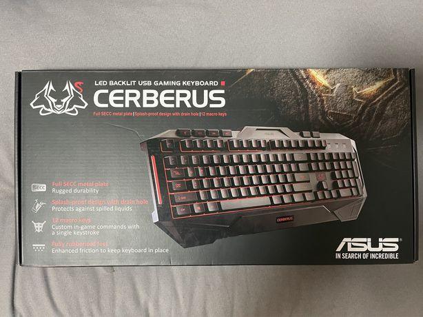 Teclado Gaming Asus Cerberus - Como novo!
