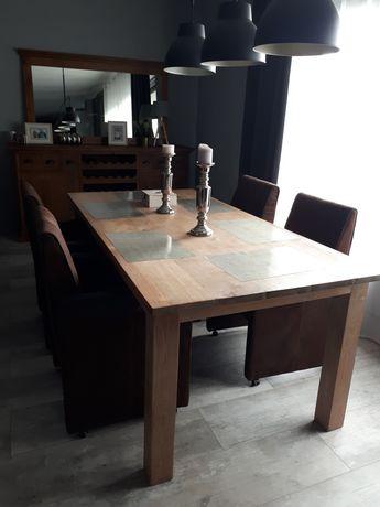 Fotel krzesło  zamszowy na kółkach fotele brąz