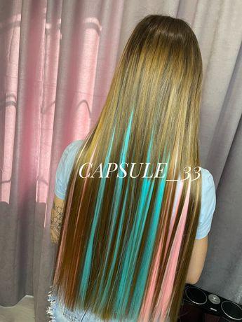 Кератиновое выпрямление волос , ботокс волос .