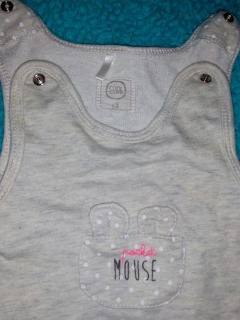 Spodnie spioch Cool club 68 motyw myszka