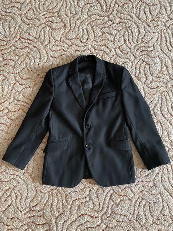 Пиджак школьный для мальчика 128