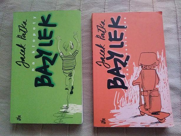 """"""" Bazylek na kłopoty """" oraz """" Bazylek daje sobie radę """" - 2 książki"""