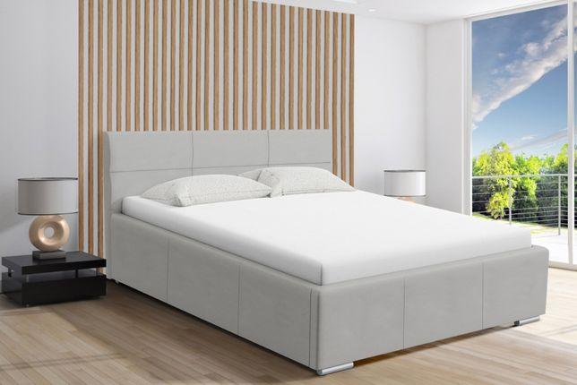 Łóżko sypialniane tapicerowane Paris, różne wymiary, stelaż+pojemnik