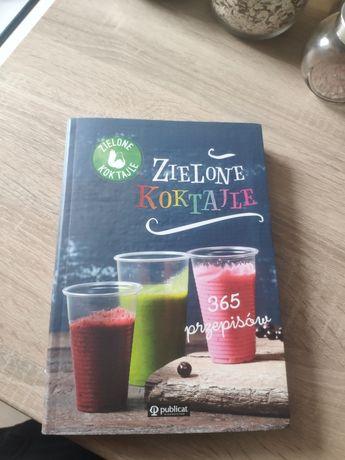 Książka zielone koktajle