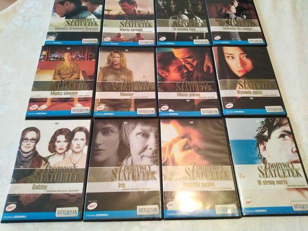 Zestaw 12 filmów DVD: Zdobywcy Statuetek