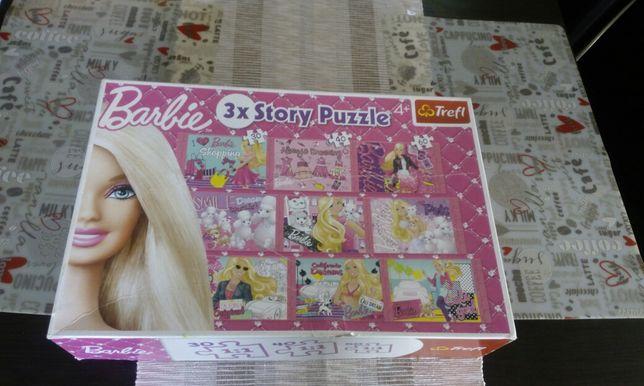 Trefl Puzzle Barbie zestaw 6 układanek