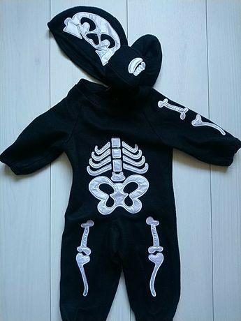 Скелет на Хеллоуін новий на 6-12 місяців