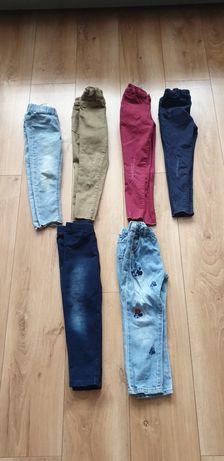 6 par spodni dla dziewczynki 4-5 lat