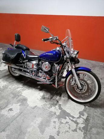 Yamaha dragstar 650 impecável de origem com todos os extras