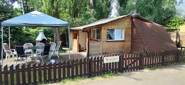 Domek, działka rekreacyjna. Szczecin Marina żeglarska.