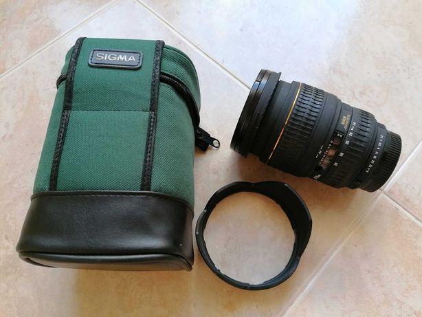 Lente / Objetiva Sigma 24-70mm EX DG f2.8 p/Pentax + Skylight + Bolsa
