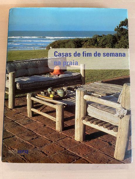 Livro 'Casas de fim de semana na praia' - Interiroes e decoração