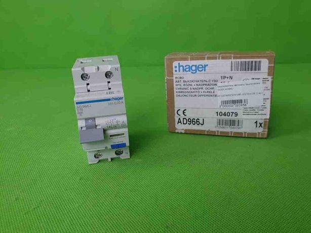 Дифференциальный Автомат HAGER AD966J