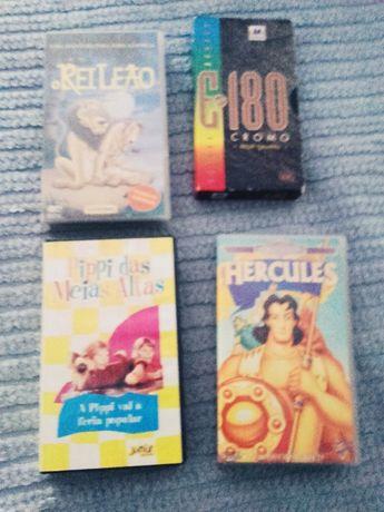 Diversos Filmes Pipi Das Meias Altas Rei Leão Hércules E Power Rangers
