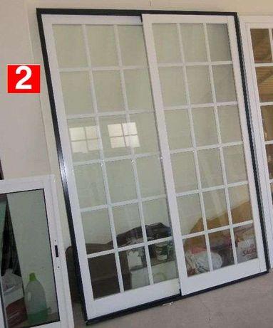 Janela Aluminio Vidro Duplo - Porta/Sacada