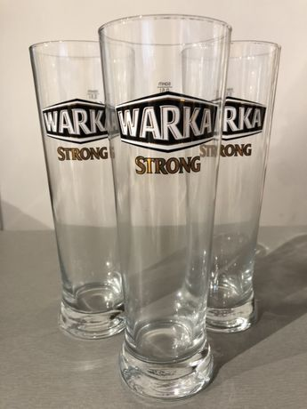 Pokale, szklanki do piwa Warka Strong 0,5l