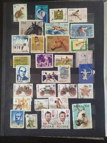 Sprzedam znaczki pocztowe klaser