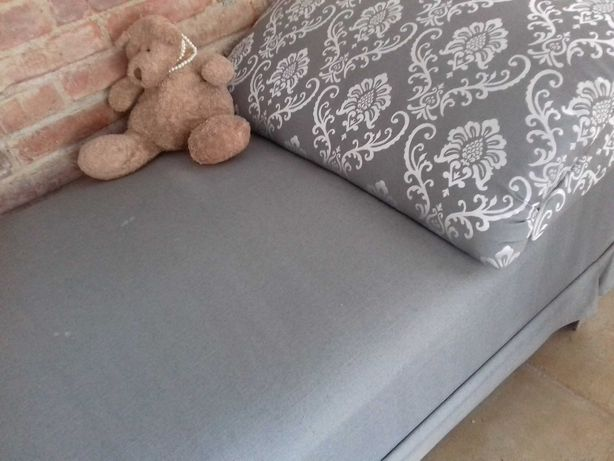 łóżko, szezlong, leżanka