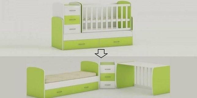 Дитяче ліжко-трансформер