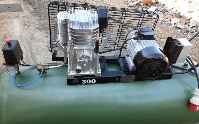 Compressor 300 litros trifásico