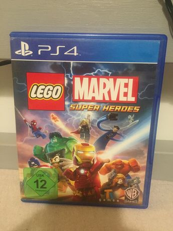 Gra lego marvel superheroes na ps4