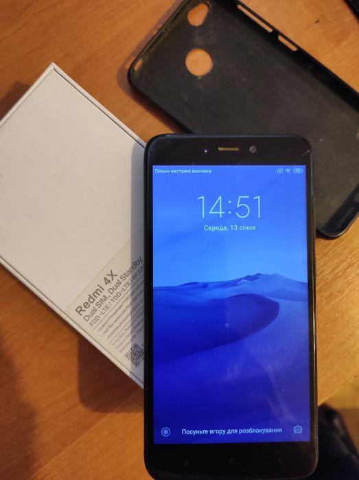 Xiaomi Redmi 4X 3/32 + чехол Харьков - изображение 1