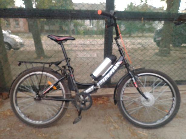 Електровелосипед 350 Вт + запасна батарея