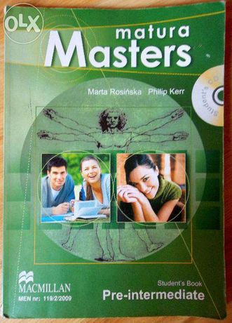 Matura Masters Pre-Intermediate Student's Book + CD, Cards, Speaking