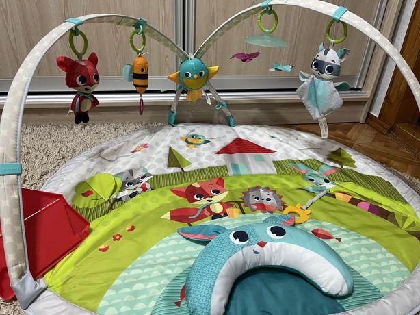 Развивающий коврик с дугами Tiny Love «Веселая Лужайка»