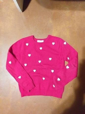 Яркий свитерок на осень H&M 6-8 лет