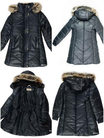 Куртка зимняя lenne Adele, пальто черное Lenne